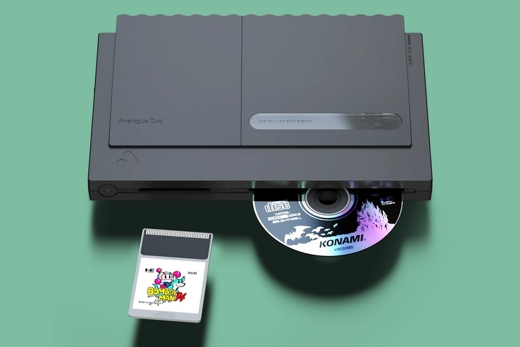 Analogue Duo Retro Console Plays TurboGrafx CDs And Cartridges In 1080p
