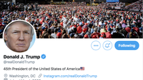 Twitter says 'no evidence' Trump's account was hacked with laughably bad password
