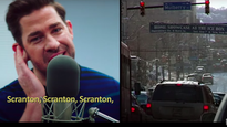 John Krasinski singing 'The Office' theme song is the happiest we've been in a year